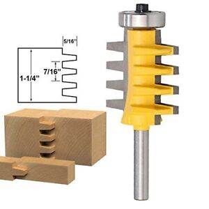 Amana Tool 45660 T slot Straight Edge 2 flute Carbide Tipped Router Bit Shank