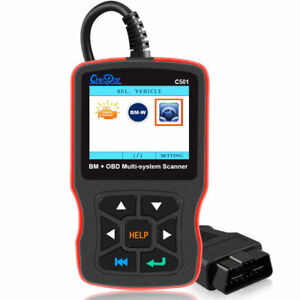 Bmw Scanner Tool Mul Ti System Obd2 Car Code Reader Abs Srs Diagnostic Tool C501