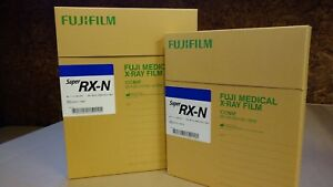 Fuji Blue Super Rx X ray Film 14x17 Inch Box