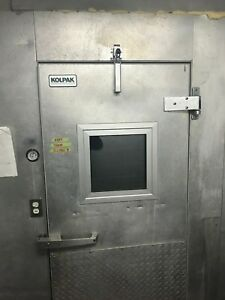 Commercial Walk In Refrigerator freezer was Used As A Freezer