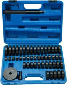 50pc Bearing Seal Driver Tool Kit Custom Bushing Bearing Hydraulic Press 18 65mm