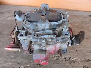 1970 Gm Chevy Quadrajet 4 Barrel Carburetor 7040202 Camaro Corvette Avanti 350