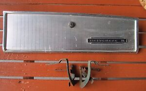 1965 Plymouth Satellite Belvedere Ii Glove Box Door With Hinges Nice