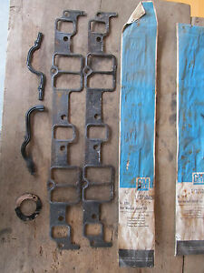 Nos 1950 s 1960 s Gm Chevrolet Intake Gasket Lot 348 409 Bbc Chevy