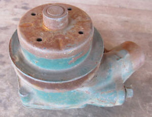 Nos Gm Chevrolet 216 Ci 235 Ci Blue Flame 6 Water Pump 2 Hole 1941 1954