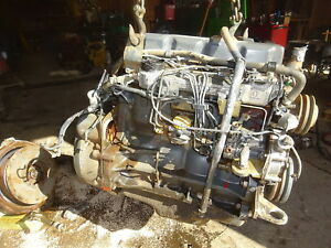 Ford New Holland 450 nc Diesel Engine Runs Exc Video 5 0 Lx985 Lb Backhoe