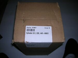 Nortec 311 Tank Cylinder For Steam Humidifier Part 1519031 3 Phase 440 600 Vac