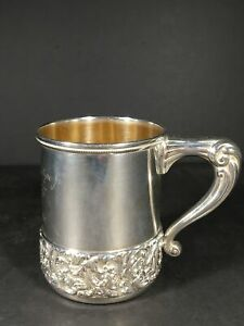Exquiste Sterling Silver Child S Mug