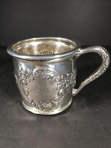 Sterling Silver Child S Christening Mug
