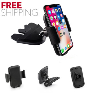 Universal Dash Car Cd Slot Holder Mount Stand For Gps Iphone Tablet Cell Phone