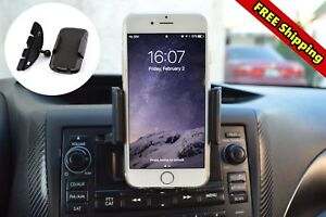 Car Mount Cd Player Slot Cell Phone Holder For Samsung Galaxy S8 S9 Plus Iphone7