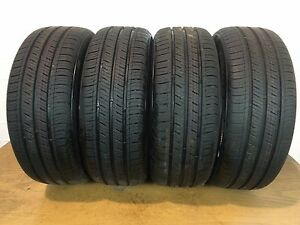 Set Of 4 Full Tread Kumho Solus Ta31 205 55 r16 205 55 16 Tires driven Once