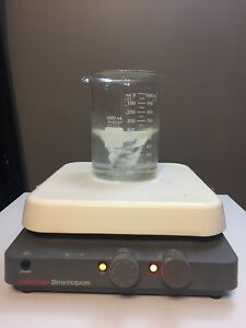 Corning Pc 520 Hot Plate Magnetic Stirrer 10 X 10 120v Stirring Analog