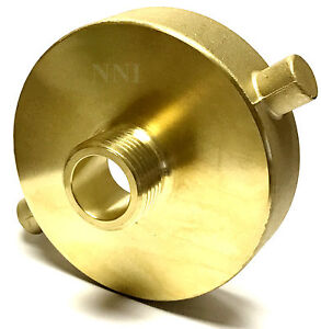 Nni Fire Hydrant Adapter 2 1 2 Female Nst nh X 3 4 Male Ght Garden Hose
