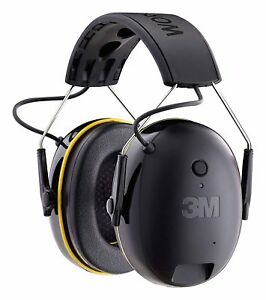 Hearing Protector 3m Worktunes Connect Bluetooth Hi fi Sound Headset Ear Muff