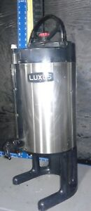 Fetco Luxus 1 5 Gallon Thermal Coffee Beverage Dispenser Our 6