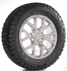 Chevy 20 Honeycomb Chrome Wheels Rims Bfg At Tires Silverado Suburban Tahoe