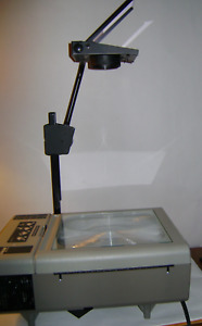 Dukane 653 Portable Folding Overhead Projector With Case Excellent Condition