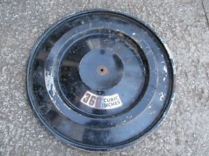 1970 71 4 Barrel Barrel Snorkel Air Cleaner Lid Mopar Dodge Plymouth 340 440 Hp
