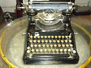 1915 To 1916 Antique Vintage Reliance Visible Typewriter Works Collectors Item
