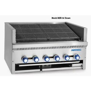Imperial Iabr 60 60 In Radiant Countertop Steakhouse Char Broiler Grill