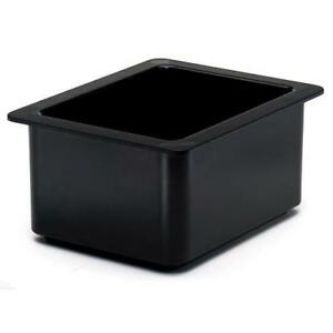 Cambro 26cf110 1 2 Size 6 In Deep Black Coldfest Cold Pan