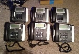 Lot Of 7 Allworx 9212 Voip Phone With Server