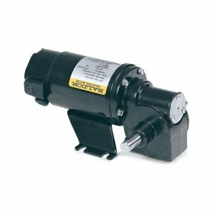 1 16 Hp 120 Rpm 90 Volts Dc Right Angle Gear Motor Baldor Gp233007