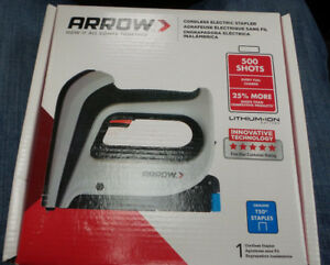 Arrow Staple Gun Cordless 3 6v Lith