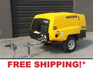 New Kaeser M50 185 Cfm Air Compressor m58 Free Shipping In Stock
