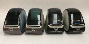 Lot Of 4 Dymo Labelwriter 400 And 450 2 Are Turbo Thermal Label Printers
