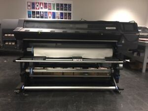Hp Latex 360 64 Wide Format Printer Great Condition