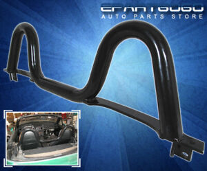 89 97 98 05 Mazda Miata Mx 5 Brand New Twin Loop Black Steel Roll Bar 1 6l 1 8l