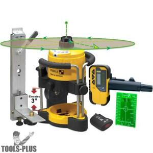 Stabila Lar120g Green Beam Self leveling Interior Rotary Laser New