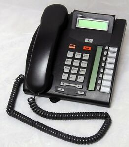 Nortel Avaya Norstar T7208 Business Telephones Nt8b26aamae6 Charcoal W Cable