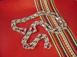 28 Box Link Stainless Steel Thai Buddha Buddhist Amulet Necklace Chain Lanyard