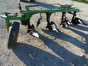 John Deere Model 45 4 Bottom Furrow Plow Three Point Hitch no Cyl Included