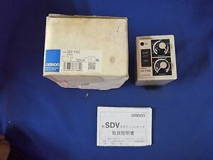 Omron Sdv fh2 dc24 Voltage Sensor New Unused