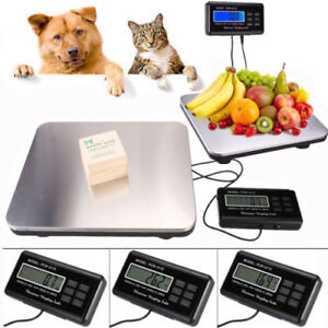 660lbs Lcd Ac 300kg Weight Digital Floor Bench Scale Postal Platform Shipping Us