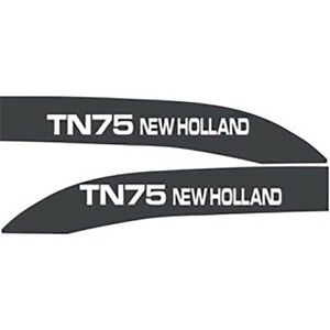 High Quality Tn75 New Holland Tractor Hood Decal Kit