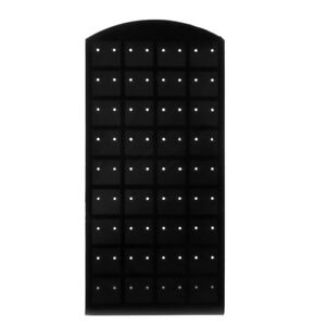 50 Pc Black 36 Pair Jewelry Holder Organizer Earrings Display Stand