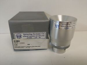 New Old Stock Spraying Systems Windjet Variable Air Amplifier 57080 1 25 al