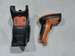 Powerscan Pm9500 Handheld Barcode Scanner W Dock Bc9030