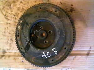Allis Chalmers B Ib C Tractor Ac Good Engine Motor Flywheel Starter Drive Gear