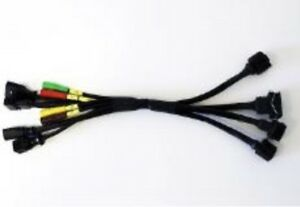 Vw Audi Vehicle Diagnoses Testing Adapter Interface Cable Oem Vas5258a