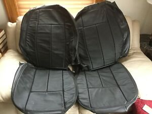 2005 2009 Saab 9 7x Front Seats Leather Upholstery Set