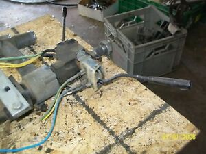 1972 Volvo P1800es P1800 Steering Column With Overdrive Turn Signal Switchs