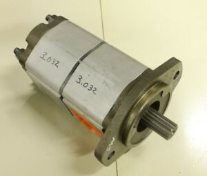 Commercial Intertech 26 333 9121 026 008 Tandem Hydraulic Pump