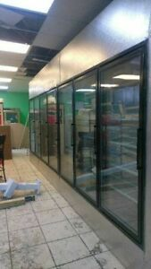 Glass Door Walk In Cooler Walk In Freezer Any Size Available Call Us For Quote