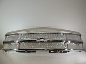 Front Bumper Chrome Grille 94 02 Chevrolet Chevy Truck Performance Honey Cone